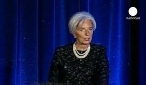 La reprise reste fragile selon Christine Lagarde