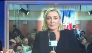 Interview de Marine Le Pen