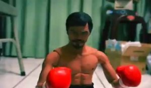 Pacquiao Vs. Mayweather (Stop Motion)