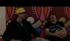 Chickenfoot interview - Chad Smith and Joe Satriani (part 1)