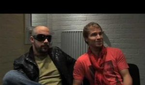 Interview Backstreet Boys - AJ McLean & Brian Littrell (part 1)