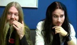 Interview Nightwish - Tuomas Holopainen & Marco Hietala (part 1)