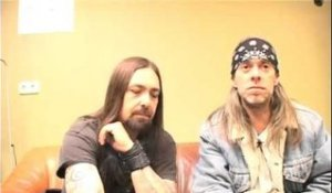 Down interview - Rex Brown and Jimmy Bower 2008 (part 1)