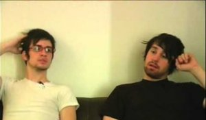 Panic! At the Disco 2006 interview - Brendon Urie and Jon Walker (part 4)