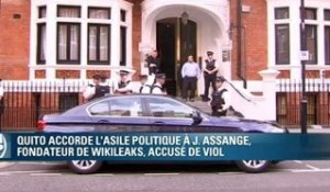 L'Equateur accorde l'asile politique à Julian Assange