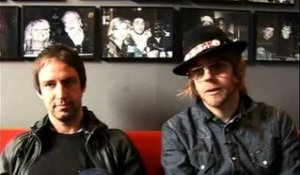 The Rifles 2009 interview - Joel Stoker en Luke Crowther (part 4)