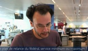 Le 11h02 - Le plan de relance du fédéral, service minimum ou maximum ?