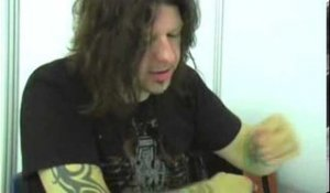 Stone Sour 2006 interview - Jim Root (part 4)
