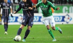 AS Saint-Etienne (ASSE) - Paris Saint-Germain (PSG) Le résumé du match (1/4 de finale) - saison 2012/2013