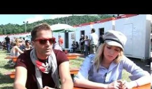 The Ting Tings 2009 interview - Katie and Jules (part 1)