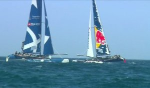 Extreme Sailing Series - Victory in Oman - 2013
