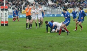 Championnat d'Europe : France - Angleterre -18