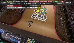 First Varial 900 - Skateboard - Mitchie Brusco -  X-Games Foz do Iguacu - 2013