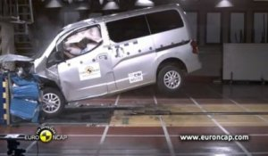 Crash-test Euro NCAP - Nissan Evalia