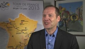 Christian Prudhomme interview - Tour de France 2013