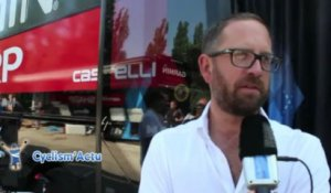 "Tour de France 2013 - Jonathan Vaughters : ""Le Top 10, pas forcément !"""