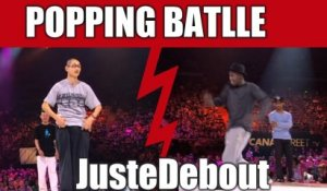 POPPING : Creesto & Popping Prince (Ireland) vs Poppin J & Crazy Kyo 1/2 finales