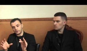 Hurts interview - Theo and Adam (part 2)