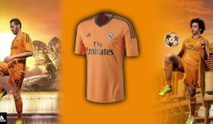 Le nouveau maillot third du Real Madrid (2013-2014)