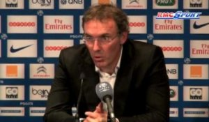 "Ligue 1 / PSG - Blanc: ""Satisfactions individuelles et collectives"" - 02/11"