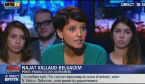 L'interview de Najat Vallaud-Belkacem par Apolline de Malherbe - BFM Politique - 1/3