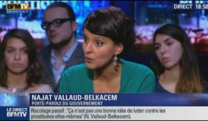 L'interview de Najat Vallaud-Belkacem par Christophe Ono-dit-Biot sur BFM Politique