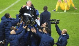 Didier Deschamps savoure la qualification