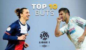 Top 10 Buts - Ligue 1 / 2013-2014 (1ère partie)