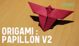 Origami : Comment faire un papillon V2
