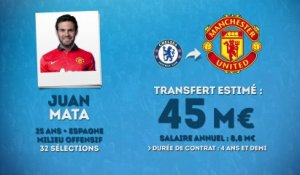 Officiel : Manchester United recrute Mata !