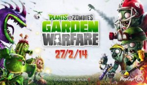 Plants vs Zombies Garden Warfare (XBOXONE) - Trailer d'annonce