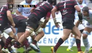 Racing-Toulouse: 25-5 - J17 - Saison 2013/2014
