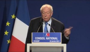 Conseil National - Jean-Claude Gaudin