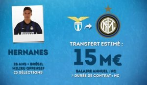Officiel : Hernanes rejoint l'Inter Milan !
