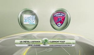 USCL 2 - 0 Clermont - J23 S1314