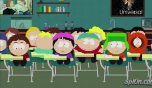 Butters fait caca à l'envers dans South Park