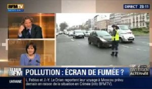 Le Soir BFM: Pollution: la circulation alternée a-t-elle porté ses fruits ? - 17/03 3/4