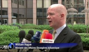 "William Hague ""très préoccupé"" par la situation en Centrafrique"