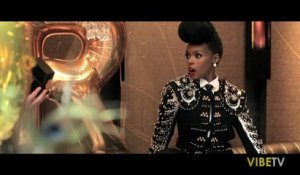 Robin Thicke and Janelle Monae VIBE Cover Shoot (Behind The Scenes)