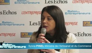 Sylvia Pinel Salon des Entrepreneurs de Paris