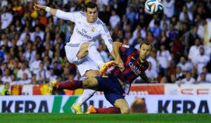 Gareth Bale Amazing Goal Real Madrid 2-1 Barcelona Final Cop