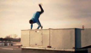 Gros Faceplant en Parkour. FAIL...