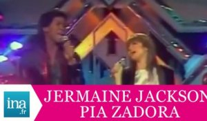 "Jermaine Jackson Pia Zadora ""When the rain begins to fall"" (live officiel) - Archive INA"