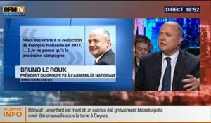 BFM Politique: L'interview de Bruno Le Roux par Christophe Ono-dit-Biot - 04/05 4/7