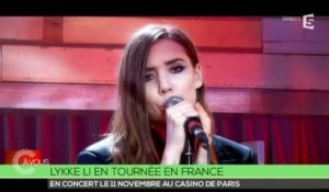 "Lykke Li "" No rest for the wicked"" - C à vous - 06/05/2014"