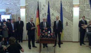 "Ukraine: Steinmeier à Kiev pour relancer un ""dialogue national"""