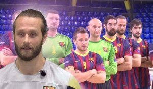 Making off shooting photo FC Barcelone (EHFCL)