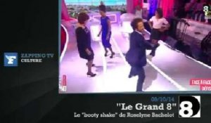 "Zapping TV : Roselyne Bachelot essaie le ""booty shake"" en direct sur D8"