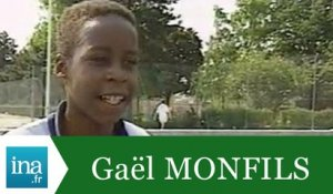 Gaël Monfils 11 ans, futur champion - Archive INA