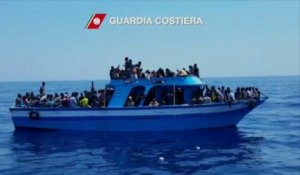 249 migrants interceptés près de la Sicile